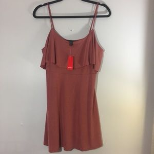 Forever 21 mauve mini dress with adjustable straps